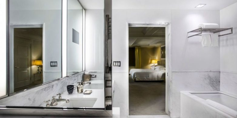 Секрет белоснежной ванной в люксовых отелях