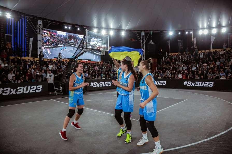 Женская сборная Украины 3Х3 …