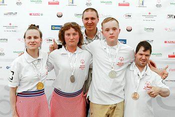 Саянские спортсмены в Австрии взяли серебро