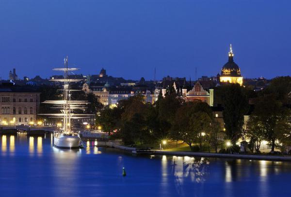 Ночной Стокгольм (фотопутешествие)