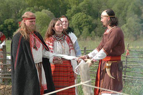 Славянские свадебные традиции