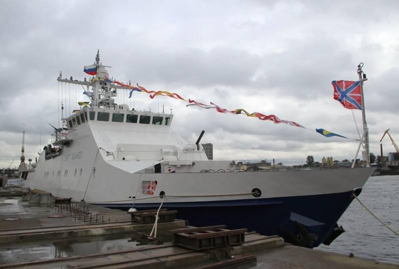 ФСБ передан 10-й корабль проекта 22460 «Преданный»