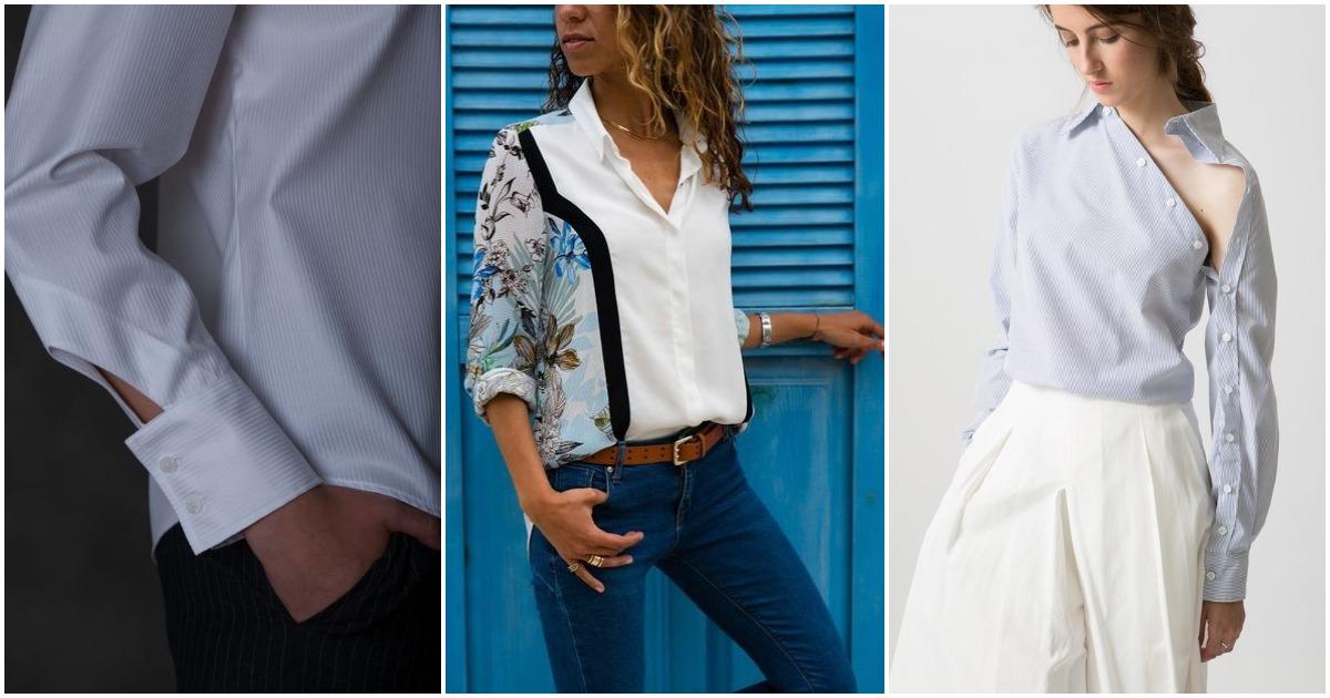 Блузки с изюминкой: интересные детали, меняющие все