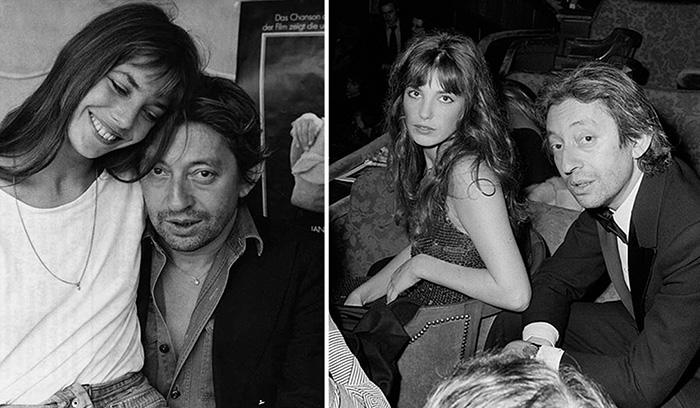 «Он был великим, а я - просто милашка»: История любви Сержа Генсбура и Джейн Биркин в фотографиях