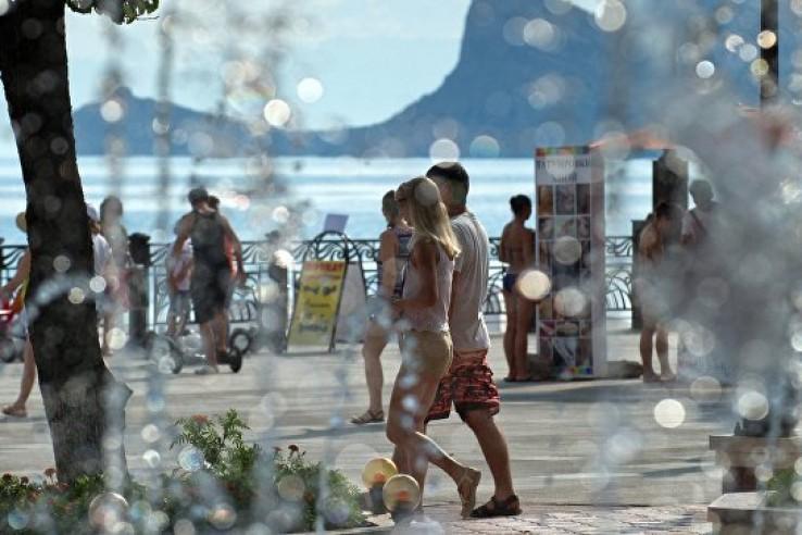 В понедельник в Крыму жара