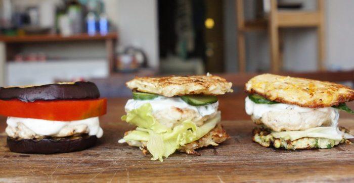 Аппетитные мини-бургеры без хлеба.  Фото: lifehacker.ru.