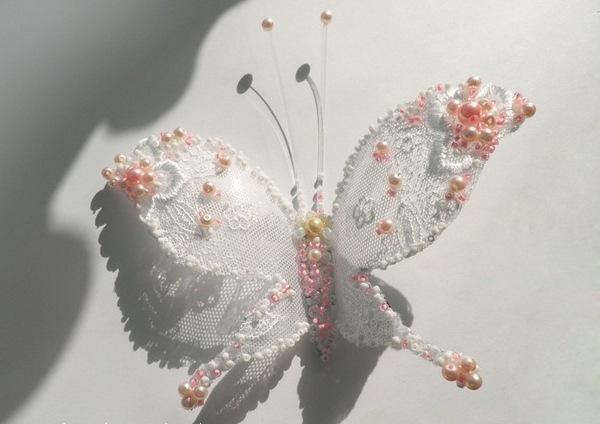 Кружевная бабочка из пластиковой бутылки!