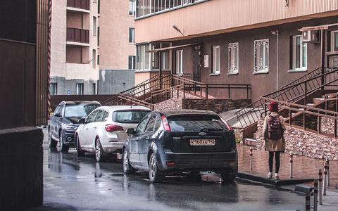 Платные парковки во дворах стали реальностью