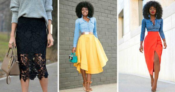 15 самых стильных фасонов юбок этим летом!