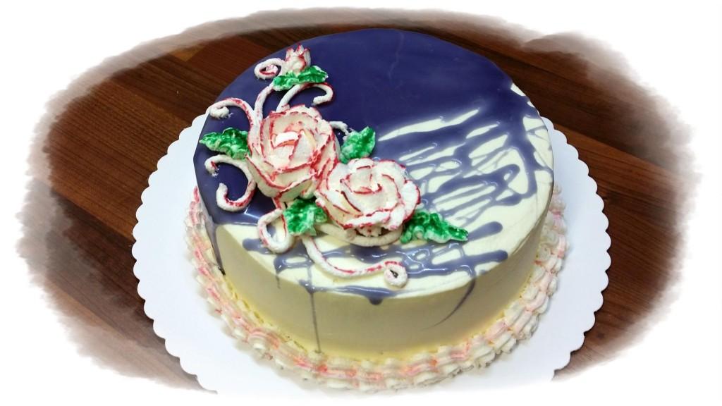 Как сделать зеркальный крем для торта