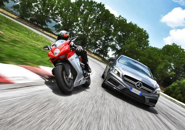 MV Agusta и Mercedes-Benz: союз подтверждён - Фото 1