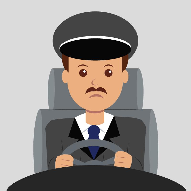 Анекдот про вечно недовольного водителя доброго бизнесмена