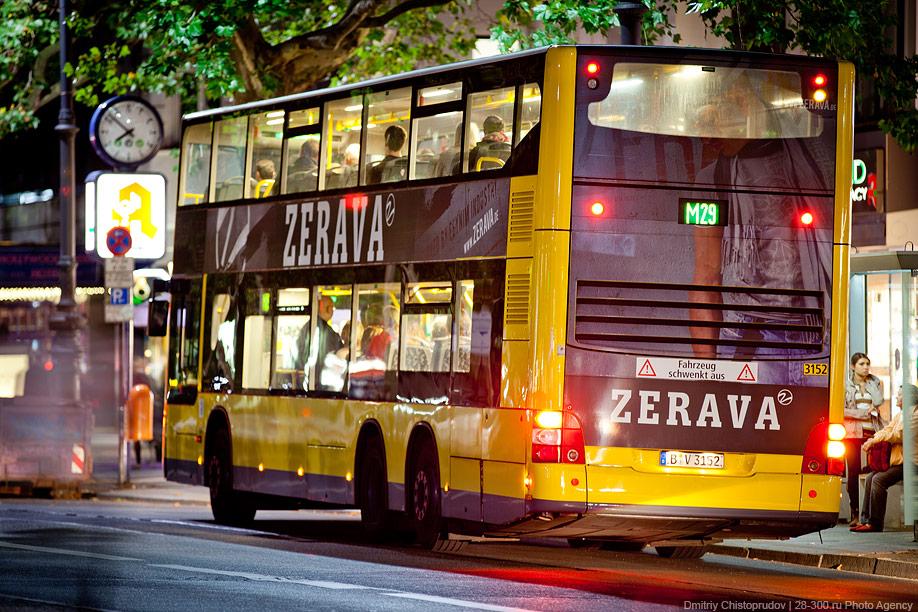 Berlin 5 Общественный транспорт Берлина