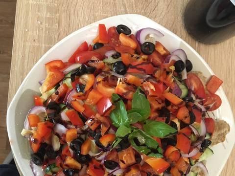 Панацелла (итальянский салат) recipe step 3 photo
