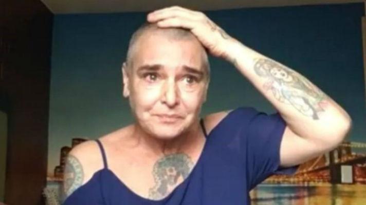 Плачущая Шинейд О'Коннор записала видеообращение о борьбе с депрессией