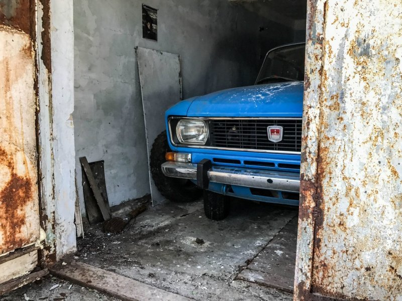 Гаражная находка: Москвич-2140 1978 года с маленьким пробегом
