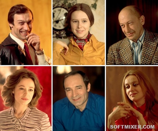 Задушевные портреты актеров советского кино