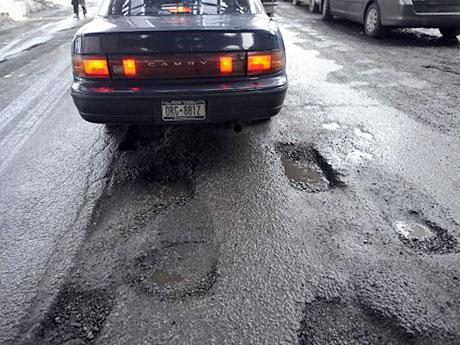 8 километраж дорог возрастал пропорционально небезопасности, с каждым годом дороги уносили все больше и больше