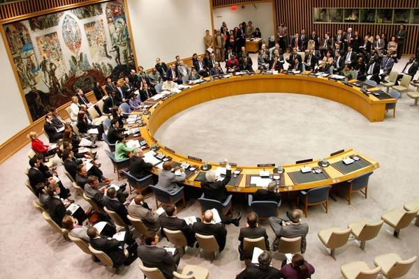 Гаспарян: ООН не может открыть свой рот на США