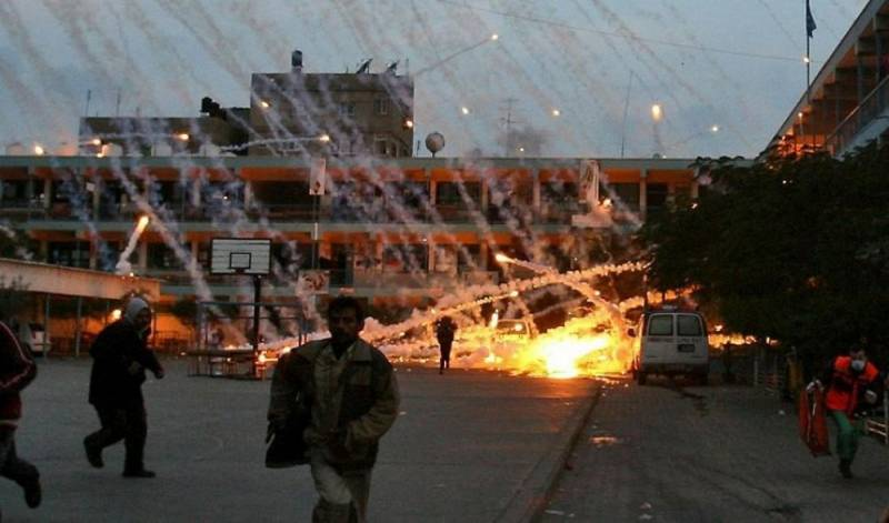 США выжгут Сирию фосфором