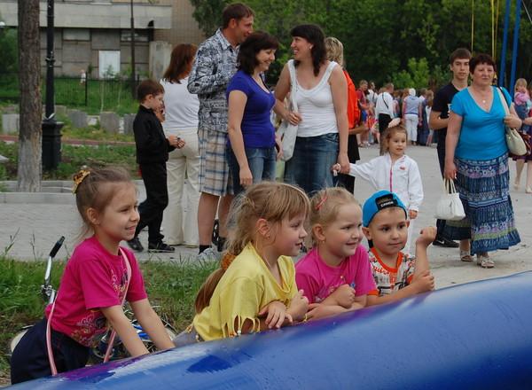 Южный Урал.г.Златоуст. Детский праздник