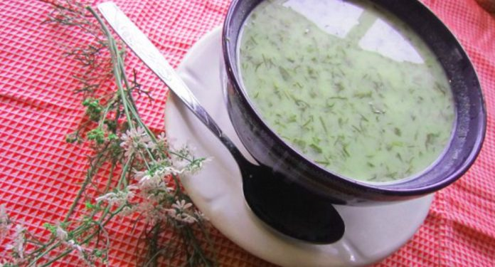 Суп из кефира поможет легко похудеть