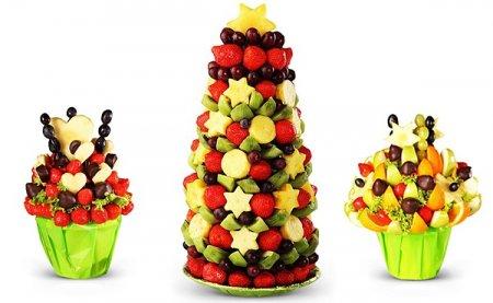 Украшение из фруктов!