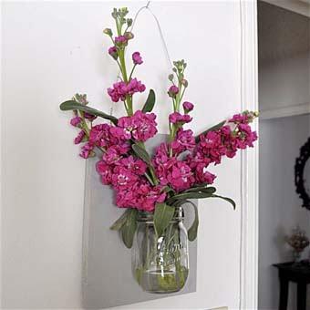 цветочный декор для дома своими руками