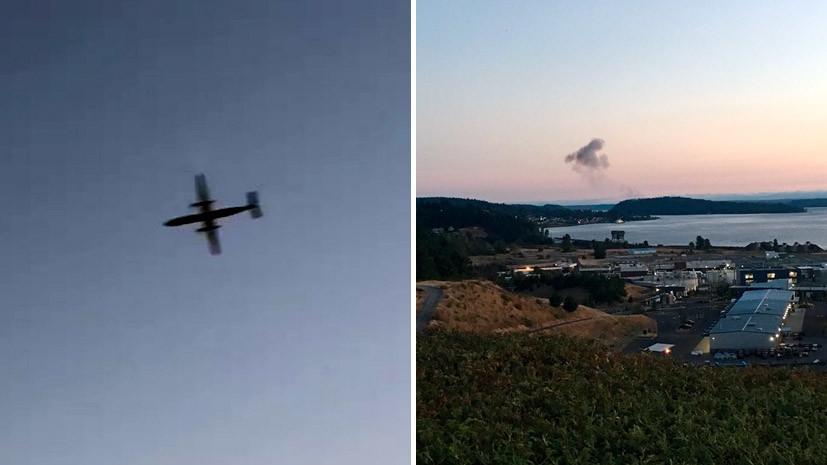 В полиции США не связывают угон самолёта в Сиэтле с терроризмом