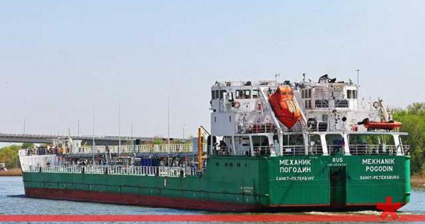 Экипаж захваченного на Украине «Механика Погодина» пресек третью попытку проникновения на судно
