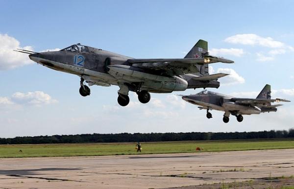 ВКиргизии начались учения российских штурмовиков Су-25