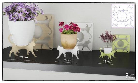 Подставки под цветочные горшки (Diy)