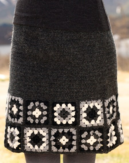 Бабушкин квадрат снова в моде: вязание крючком