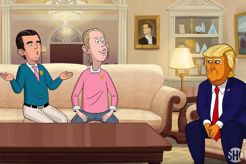 На Showtime вышел первый сезон комедийного мультсериала про Трампа