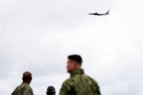 Российский самолёт условно уничтожил американский флагман