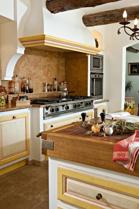 Французский прованс на кухне