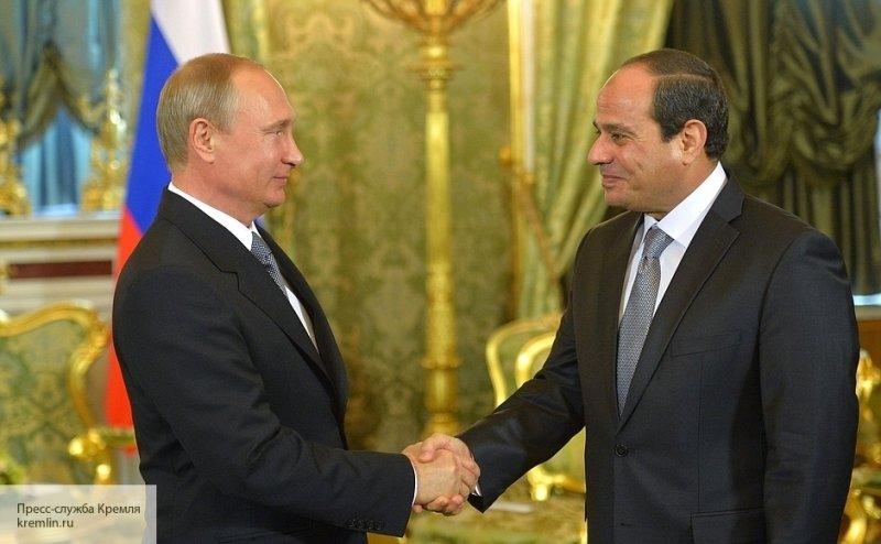 Президент Египта поддерживае…