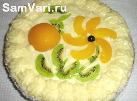 рецепт бисквитного торта фото