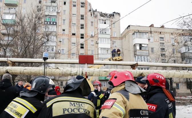 Газ взрывает  Россию — теперь в Шахтах