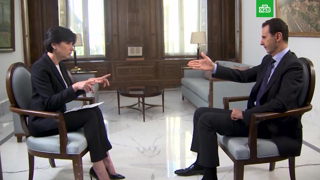 «Закон джунглей»: Асад рассказал провокациях о провокациях и лжи со стороны США