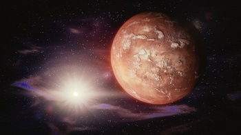 Уфологи: На Марсе взорвался НЛО