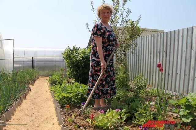 Не перетруждаться. 4 секрета идеального огорода от прикамской пенсионерки