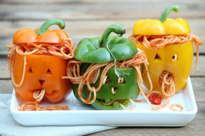 Идея горячего блюда на хеллоуин