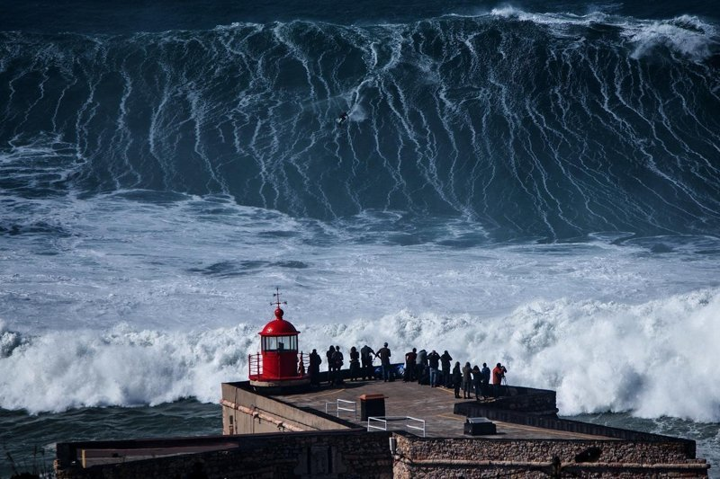 Внушающая ужас волна, пожирающая жизни