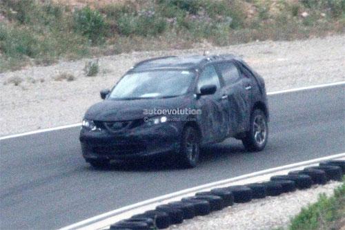 Nissan тестирует новое поколение Qashqai
