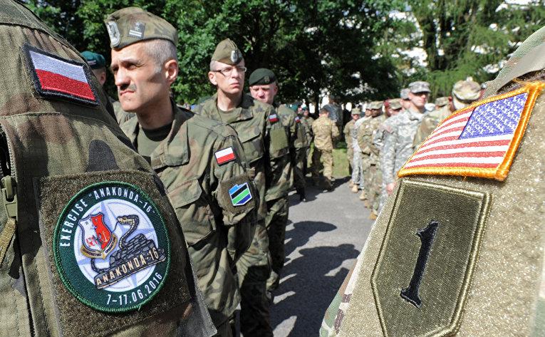 Поляк избил двух американских солдат