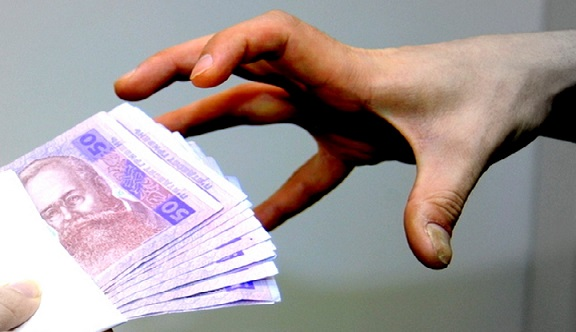 ВКиеве появился «памятник коррупции»