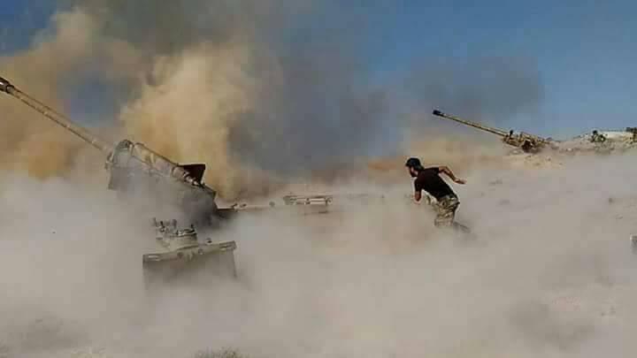 Сирийская армия атаковала террористов в Южном Идлибе