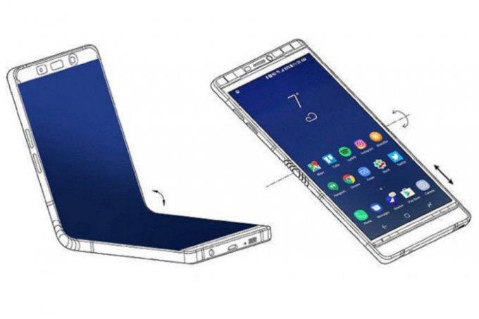 Samsung покажет смартфон с гибким дисплеем уже на этой неделе (5 фото)