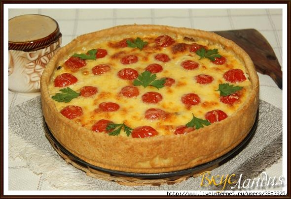 Пирог киш рецепт с ягодами